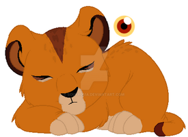 Simba X Zira daughter - CLOSED - by Soufroma