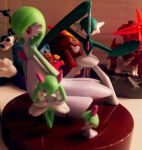 Gardevoir and Gallade 1/40 Zukan Sets by Catty-Mintgum