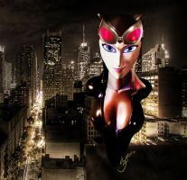 CATWOMAN bust by cheetor182