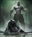 Batman - Bane by AndyFairhurst