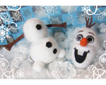 Commission-  Olaf fanplush with detachable head 2 by Rainbowbubbles