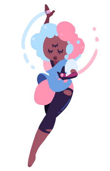 cotton candy by notbecca