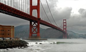 Surfing the Golden Gate by Allen59