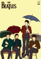 The Beatles by warlock1291