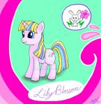 Lily Blossom - MLP Ponysona Commission by Dark-and-One-Other