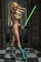 Jenny Poussiny Lightsaber Evinessa Elf 15 freebie by Evinessa