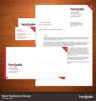 Honguski Basic Stationery by AbhaySingh1