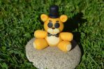 Golden Freddy Clay Plush (Check Video Tutorial!) by CraftDragons
