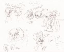 JAC AND AMI DOODLE PAGE :D FTW LOL by KAYMACHIWA