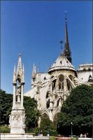 Notre Dame by haloeffect1