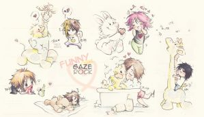 Cute Gazette by KaZe-pOn