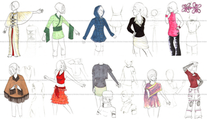 Small World fashion designs by LatchkeyGirl