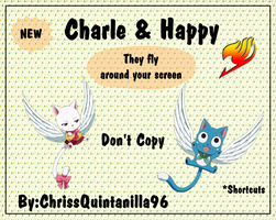 Charle and Happy - Fairy Tail by ChrissQuintanilla