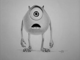 Mike (Monsters Inc.) by maenzchen