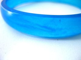 Bracelet bangle in cobalt blue by TopazTurtle