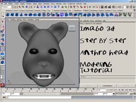 Tutorial Modeling: Anthro Head by imago3d
