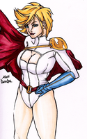 PowerGirl by pillowds