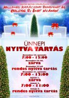 Open hours for Christmas by naranch