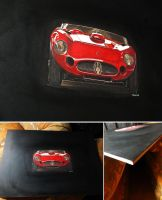 Maserati painting by przemus