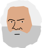 Karl Fricken Marx by DoNotReadThis1
