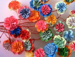 origami mother day's flower by Carmen-San