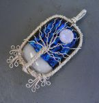 Wire Fused Glass Tree of Life by Create-A-Pendant
