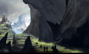 Hills a far by Concept-Cube