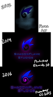 History Of The ShadowFlame Logo... by ErekiSaiko