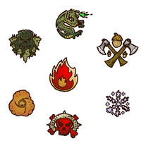 Faction Symbols by DarthAsparagus