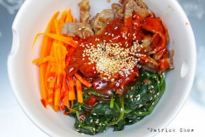 Beef bibimbap by patchow