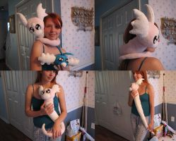 Shiny Dratini Plush by HottieHulio