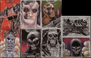 Terminator Salvation Cards by JeremyTreece