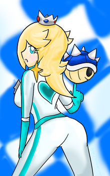 Rosalina: Blue Shell Beauty by Xero-J