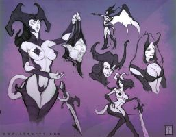 Demonettes by ArtofTy