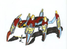 concept for the spiderdroid by Kratos-YMVS