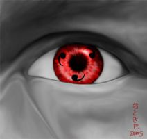 Sharingan Eye by Ellifayne