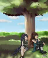 CE: Under the tree of.. by KiSsixHime