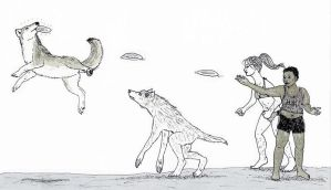 Fetch With Your Werewolf Girlfriend by MommaCabbit