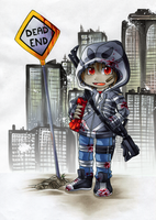30DoD: Dead End by Chibi-Nuffie