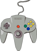 N64 Controller Pixel Art (WIP) by WelthenTolfrey