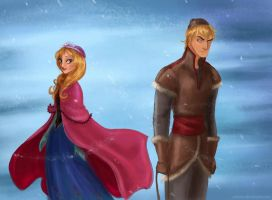 Anna and Kristoff by Arbetta