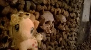 Applejack in the Catacombs by Lopsidation