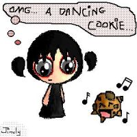 OMG... a Dancing Cookie... by Amy-teh-Jinxly