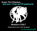 Guess That Pokemon 6 by Kanto-Pokemon-Club