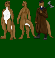 Commission: voiced-otter by LykenZealot