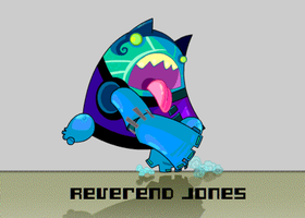 Reverend Jones by vancamelot