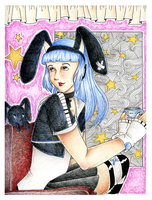 ::Contest::BlackBunny:: by xXCupcake-PrincessXx