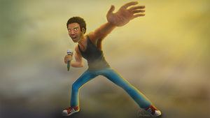Childish Gambino by ubergriff