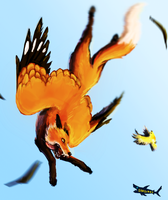 Flying Fox+Speedpaint colouring video by canned-sardines