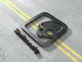 skullcandy on the street by Neviral